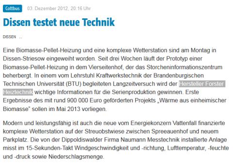 Projekte Forster Heiztechnik
